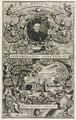 Zentralbibliothek Solothurn - Blatttitel CONGREGATIO SANCTIFICAT Titel der oberen Hälfte Rmus Amplmus Dominus D ESSO Abbas Monry BV in Petra - aa0465.tif