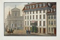 Zentralbibliothek Solothurn - Solothurn Hotel Krone und St Ursenkathedrale - a0548.tif