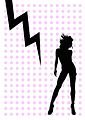 Zigzag design Paris Shock Series 009 silhouette.jpg