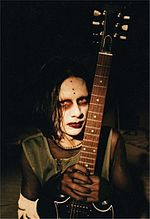 Zim Zum during the Antichrist Superstar promotional campaign