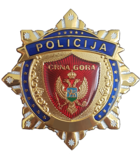 Badge of Montenegrin Police Officers
