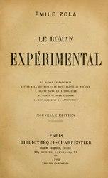 Émile Zola: Le roman expérimental