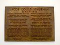 Zu Ehren des Gelehrten und Staatsmannes Jacob Gould Schurman ist diese Gedenktafel von den Söhnen ihrer Alma Mater Cornell University in Freundschaft der Ruperto Carola gewidmet .JPG