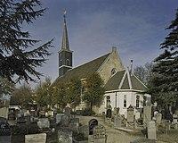 Zuidgevel kerk en consistorie aan de oostzijde - Akersloot - 20396873 - RCE.jpg