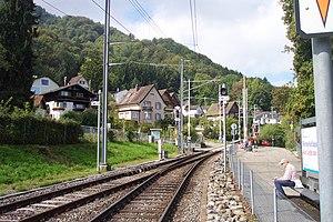 Zürich Triemli railway station - Image: Zurich Triemli 2011 080