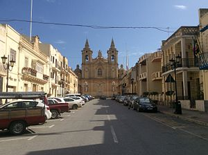 Żurrieq - Image: Zurrieq main parish church