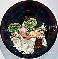 """An hanging plate-Table stetted-"" (1897) - Rafael Bordalo Pinheiro (1846 - 1905) (46414872905).jpg"