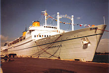 Cruises From Miami >> MS Kungsholm (1952) - Wikipedia