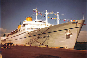 MS Kungsholm (1952) - Costa Cruises Columbus C In Miami (1984)