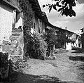 """""""Facada"""" hiš v vasi Breg pri Šmartnem 1953.jpg"""