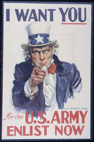 "File:""I Want You For The U.S. Army Enlist Now"" - NARA - 513533.jpg"