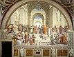 """""""The School of Athens"""" by Raffaello Sanzio da Urbino"""