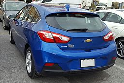 '17 Chevrolet Cruze Hatchback -- Rear