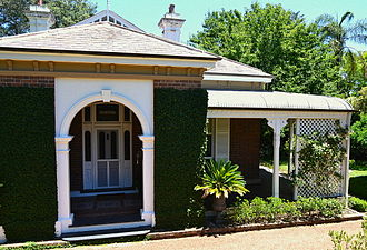 Wahroonga, New South Wales - Image: (1)The Briars in Wahroonga 1