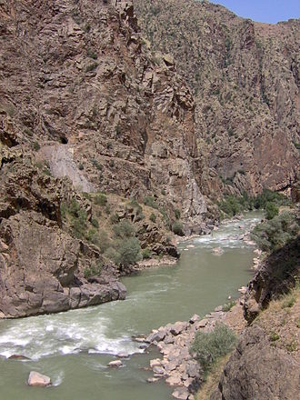 Çoruh river - Image: Çoruh River