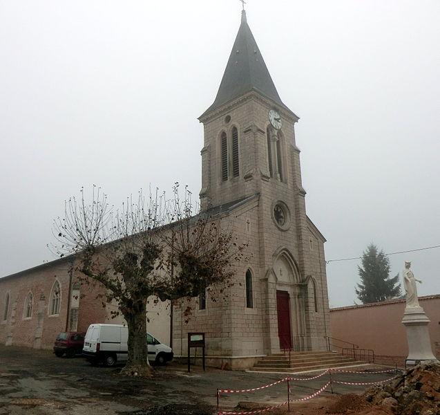 Église Notre-Dame-en-Dombes de Chaneins.