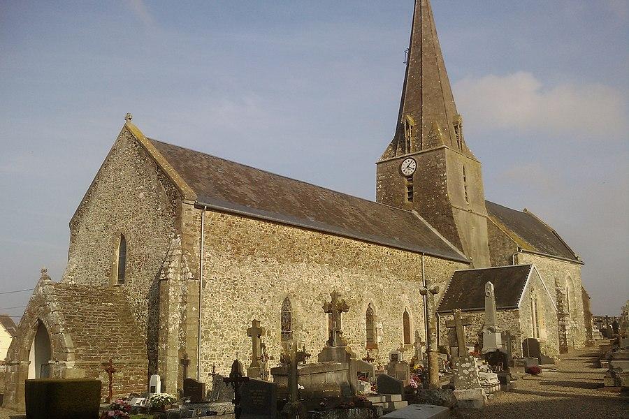 Église Saint-Pierre de fr:Blanville-sur-Mer