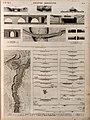 Égypte Moyenne. 1-28. Plan et profils du Bahr Yousef, du Bathen et de plusieurs canaux qui en dépendent; 29.30. Profils de la vallée; 31-36. Ponts et digues d'irrigation; 37-39. Pont-canal à (NYPL b14212718-1268717).jpg