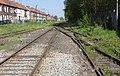 État de la section de Saint-Saulve à Blanc-Misseron de la ligne de Douai à Blanc-Misseron au 16 avril 2014 (123, gare d'Onnaing).JPG