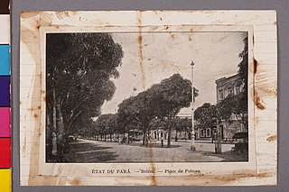 État du Pará - Belém - Place da Polvora