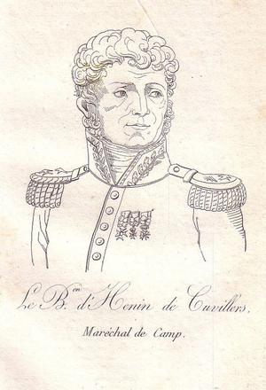 Étienne Félix d'Henin de Cuvillers - Étienne Félix d'Henin de Cuvillers