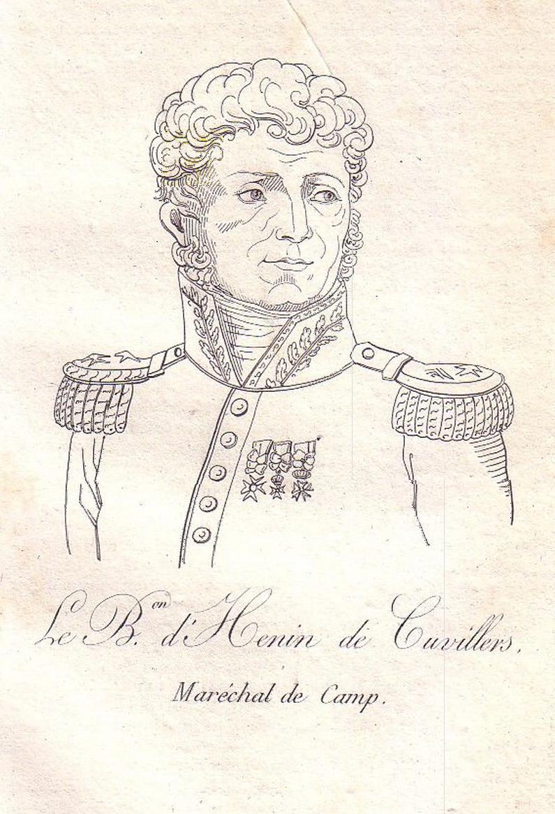 Étienne Félix d'Henin de Cuvillers