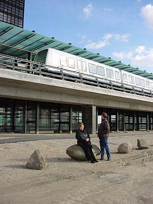 M2 (Copenhagen) - Ørestad Station