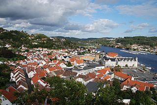 Mandal (town) Town in Southern Norway, Norway