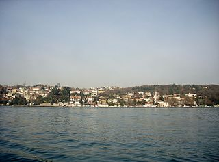 Emirgan Neighborhood in Istanbul, Marmara, Turkey