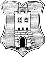 Žandov coat of arms, Otto's Encyclopedia.jpg