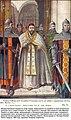 Арест византийцами папы Мартина I в Риме в июне 653 года по приказу Константа II.jpg
