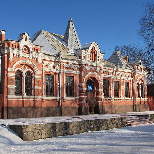 Будинок, в якому жив художник О. О. Осмьоркін, Кропивницький