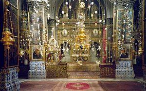 Armenian Patriarchate of Jerusalem - Interior of St. James Church