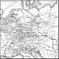 Карта № 4 к статье «Коалиционные войны». Военная энциклопедия Сытина (Санкт-Петербург, 1911-1915).jpg