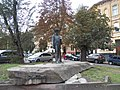 Львів. Вул. І. Франка. Пам'ятник Трушу.JPG