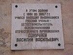 Мемориальная доска почвоведу Василию Докучаеву.JPG