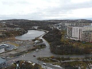 Gadzhiyevo Town in Murmansk Oblast, Russia