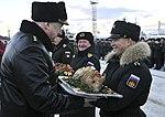 Отряд боевых кораблей и судов обеспечения СФ выполнил задачи дальнего похода и прибыл в Североморск2.jpg