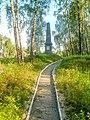 Пам'ятний знак на місці, де загинули радянські військовополонені, Чернігів.jpg