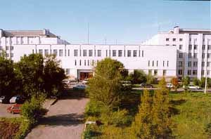 Siberian Federal University - Main building of SibFU