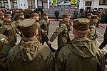 Президент України Петро Порошенко привітав молодих офіцерів з випуском 335 (16738387217).jpg