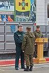 Президент України Петро Порошенко привітав молодих офіцерів з випуском 571 (16759523209).jpg