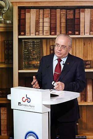 Viktor Sadovnichiy - Viktor Sadovnichy at the Festival of Science in 2011