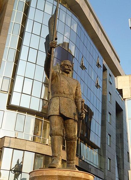 File:Споменикот на Димитар Поп Георигиев во Скопје.JPG