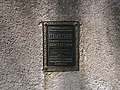 """Табличка з написом """"Пам'ятник садово-паркової архітектури"""". Кияниця.jpg"""