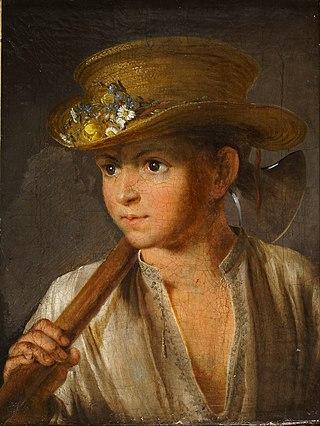 Мальчик с топориком. 1810
