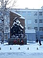 УрФУ. Памятник студентам и преподавателям УПИ - участникам ВОВ. 2019 01.jpg