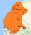 امتداد المغرب تحت الحكم السعدي أواخر القرن 16.png