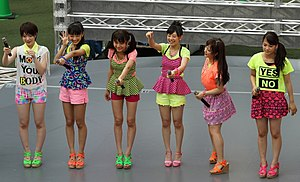 Japanese idol - Fairies on stage, 2013