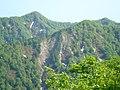 太平山地(上小阿仁村 南部 1000㍍級の山塊が聳える).JPG